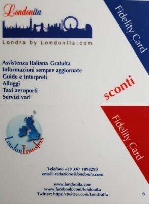 Londonitafidelitycard