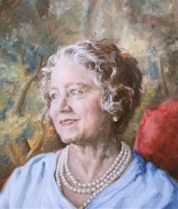 Portrait-of-Queen-Elizabeth-The-Queen-Mother-2013-40x30cm-Daniele-Iozzia-da-Modica